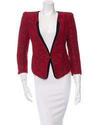 Patterened single hook blazer medium 1211311