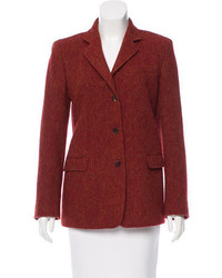 Tweed wool blazer medium 1211307