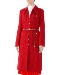 Gucci Tweed Coat