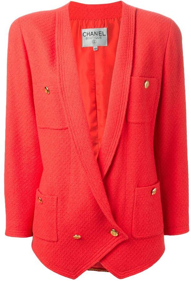 7047b873605 ... Chanel Vintage Tweed Jacket
