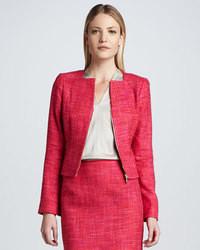 Elie Tahari Monroe Tweed Jacket
