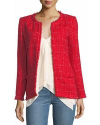 IRO Quespo Open Front Tweed Jacket