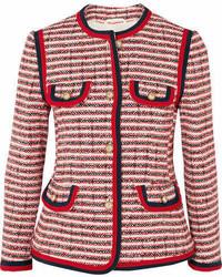 Tweed jacket red medium 7012291