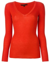 Gucci Ribbed Slim Fit Sweater