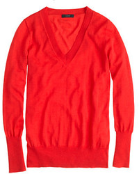 J.Crew Merino Wool V Neck Sweater