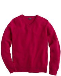 Lambswool v neck sweater medium 5320