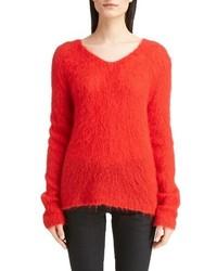Saint Laurent Mohair Blend Sweater