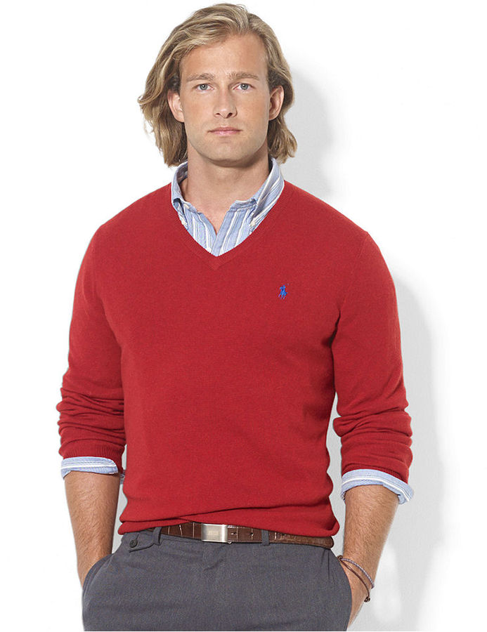Polo Ralph Lauren Sweater V Neck Merino Wool Sweater | Where to ...