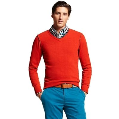 Tommy Hilfiger V Neck Sweater | Where to buy & how to wear
