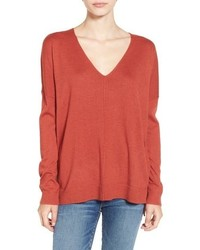 V neck sweater medium 801747