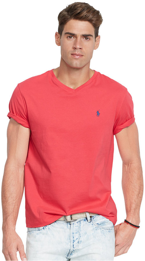... Polo Ralph Lauren Jersey V Neck T Shirt ... 9190feb67441