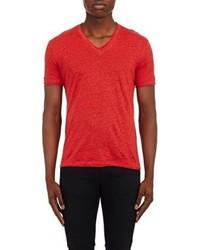 John Varvatos Slub T Shirt Red