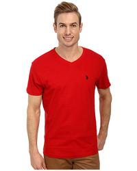 U.S. Polo Assn. V Neck Short Sleeve T Shirt