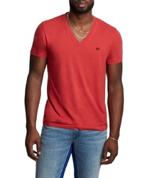 True Religion Brand Jeans V Neck T Shirt