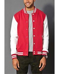 21men 21 Classic Varsity Jacket