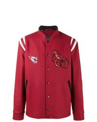 Lanvin Embroidered Basketball Jacket
