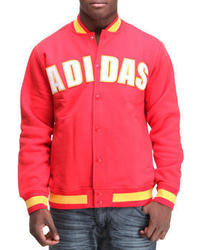 adidas Fleece Varsity Jacket