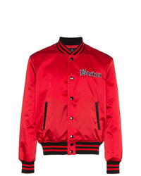 Marcelo Burlon County of Milan Red Sox Bomber Jacket