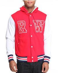 Rocawear Roc Forever Hooded Varsity Jacket