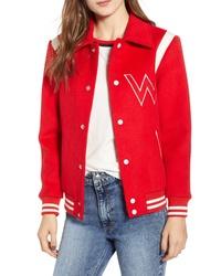 Wrangler Varsity Bomber Jacket