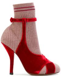 Fendi Sandal Shaped Boots
