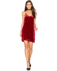 Sidney frosted velvet cami dress in red medium 5370880