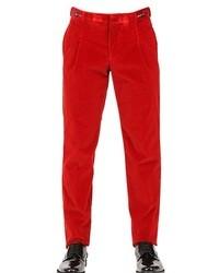 Emporio armani 18cm corduroy stretch trousers medium 19574