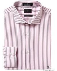 Banana Republic Monogram Grant Slim Fit Italian Cotton Stripe Shirt