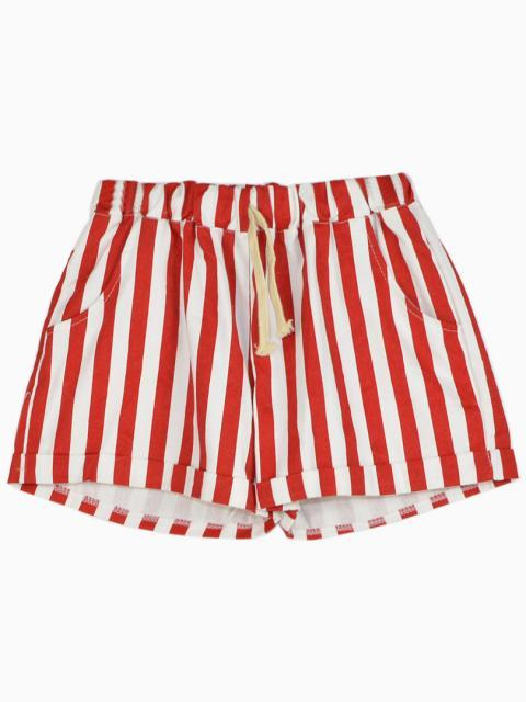 Choies Shorts In Red And White Stripe | Where to buy & how to wear