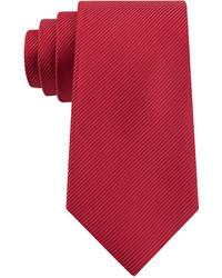 Geoffrey Beene Bias Stripe Solid Tie