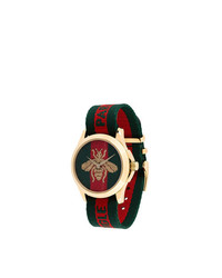 Gucci Bumblebee Fabric Strap Watch