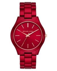 Michael Kors Slim Runway Bracelet Watch