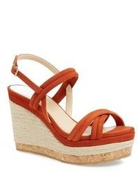 Red wedge sandals original 1642947