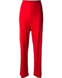 Red wide leg pants original 4511961