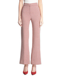 Pamela gingham wide leg suiting pants medium 5277206