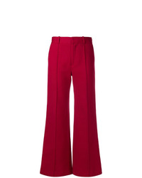 See by Chloe See By Chlo Flared High Waisted Trousers