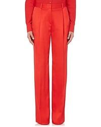 Givenchy Silk Blend Satin Wide Leg Pants