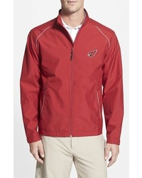 Arizona cardinals beacon weathertec wind water resistant jacket medium 400919
