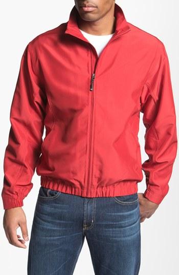 Mens Red Windbreaker Jacket - JacketIn