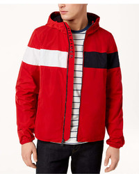 Tommy Hilfiger Erwin Colorblocked Hooded Windbreaker Created For Macys
