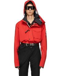 Y/Project Red Canada Goose Edition Nanaimo Jacket