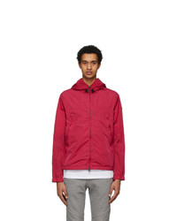 Moncler Red Hooded Jacket