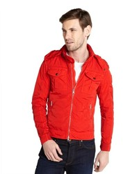 Moncler Red Windbreaker Adlophe Jacket