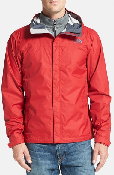 ... shop red windbreakers the north face venture waterproof jacket 32935  882a7 052cab4f9