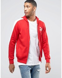 Puma Windbreaker Jacket In Red 57151807