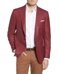 Peter Millar Classic Fit Wool Blend Sport Coat