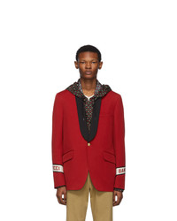 Gucci Red Band Blazer