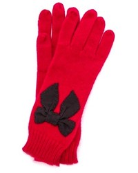 New york sugar plum stitched bow gloves medium 121972