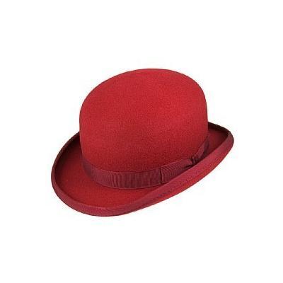 652cd720c337e ... Christys  Hats Christys Hats Wool Felt Bowler Red