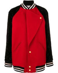 Lanvin Lapel Varsity Jacket